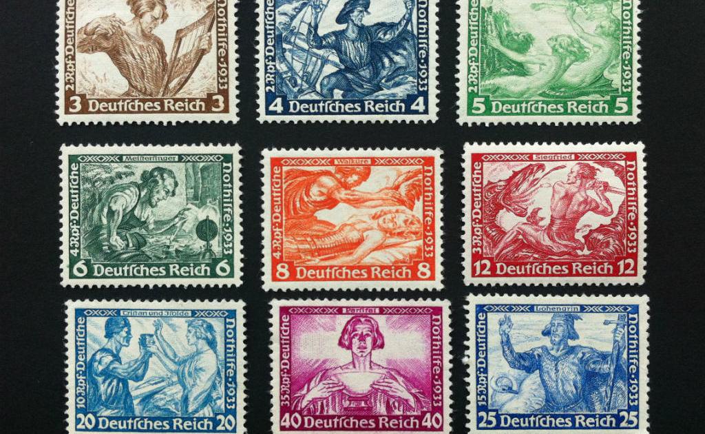 Znaczki Deutsches Reich . Znaczki niemieckie. Wycena  Skup Sprzedaż Znaczków pocztowych