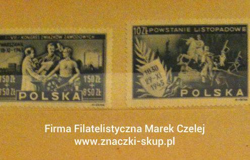 Powojenne znaczki pocztowe polskie PRL 1945-5