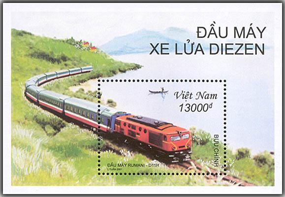 Wietnam znaczki